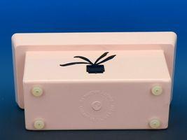 Mid Century Modern Hard Plastic Pink Window Box Planter Quality Molding c.1960 image 4
