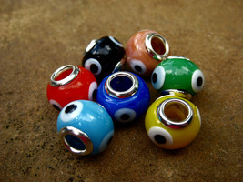 Spell Cast Evil eye bead for protection and powerful good luck make your... - $15.00