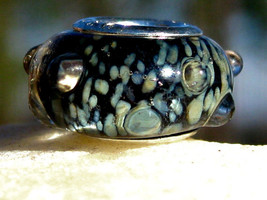 Triple Spell Cast Haunted GAMBLING LUCK Glass bead to make your own spel... - $15.00