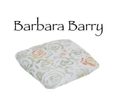 New Barbara Barry Bouquet Standard Queen Sham Floral White Sringtime