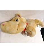 "Jungle Snubbies Plush Hippo 18"" Lgth Big Head Stuffed Animal Toy  Large - $10.75"