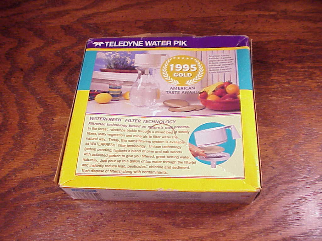 Water Pik Pour Thru Waterfresh Filters, Model WR-1, 24 count