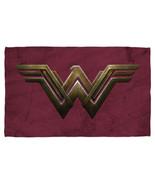 Nuovo Originale Wonder Woman The Movie Emblema Sublimazione Telo da Spia... - $49.17
