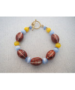 San Diego Chargers Football Porcelain Bracelets - $23.50