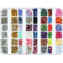 Nail Rhinestones kit Multi-size Gems Metal Nail Rivets Studs (3, 4 or 5 boxes) image 3