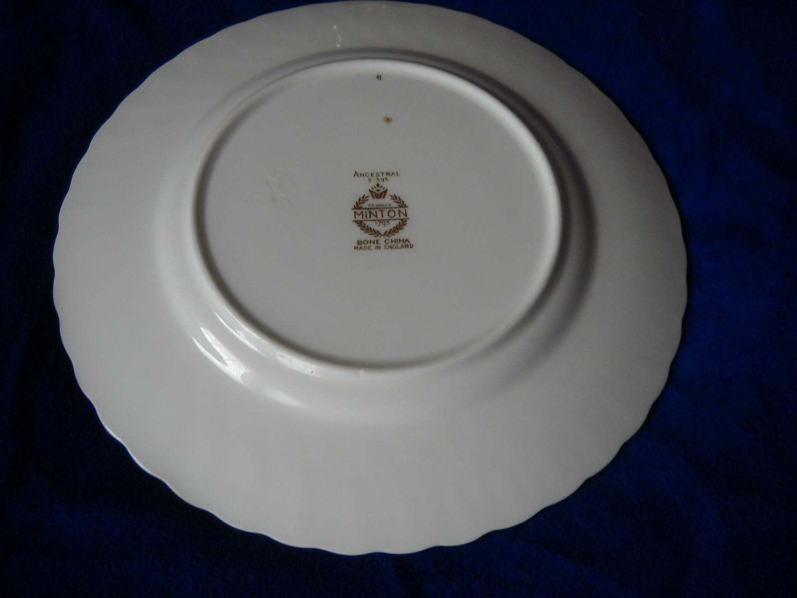 MINTON ANCESTRAL bread  plate