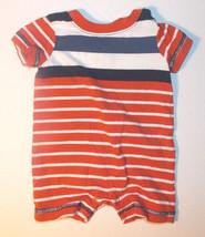Gymboree Baby Essentials Infant Boys Romper Stripes Size 0-3 Months VGUC - $9.45