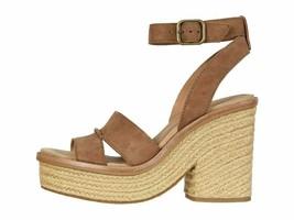 UGG Carine Chestnut Women's Ankle Strap Platform Sandals 1102785 - $124.00