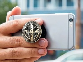 Holy Sockets - St. Benedict Medal - $16.95