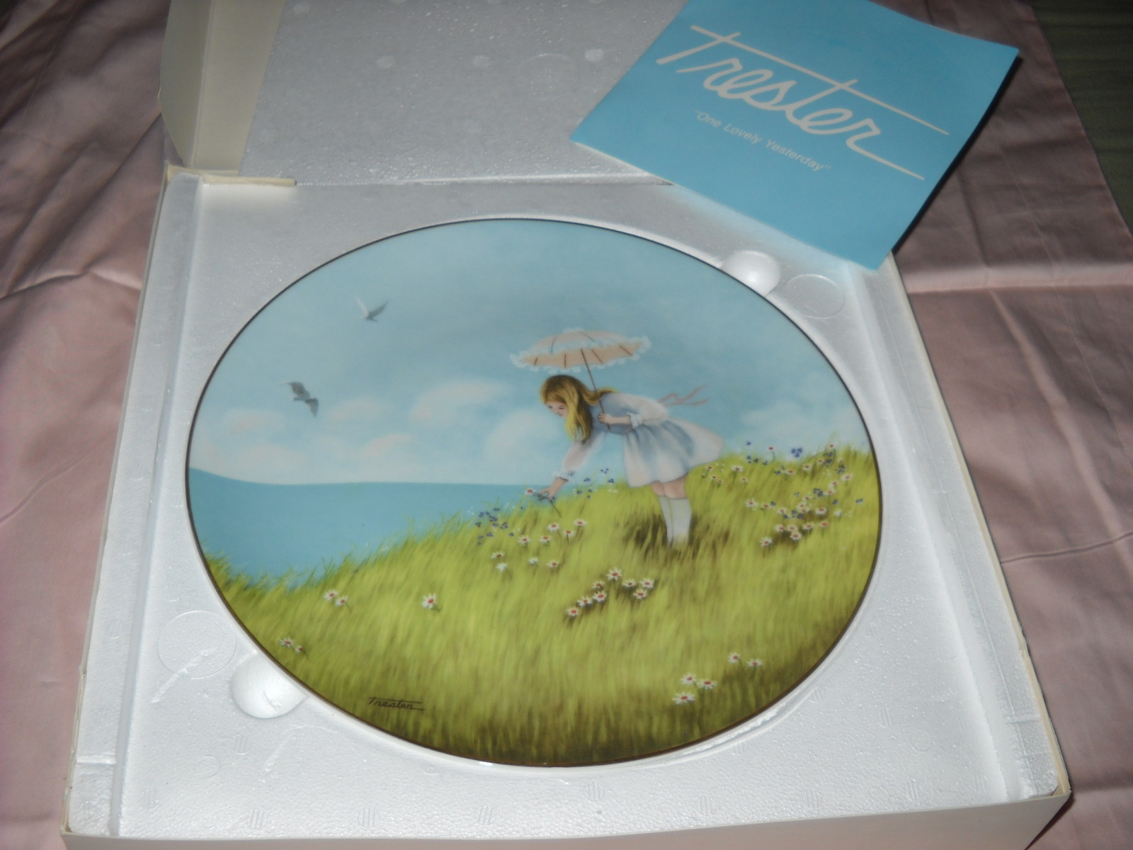 Primary image for ROSENTHAL Trestor One Lovely Yesterday Collector plate-1976