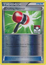 Crushing Hammer 34/39 Reverse Holo Pokemon League Promos - $1.29
