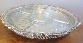 NEW Oneida Countess Lazy Susan Silverplate Hollowware Webster Wilcox 15.... - $84.14
