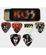 Kiss 6 Guitar Pick Lot Rock Plectrum Two Sided ... - $14.00