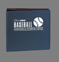 Ultra Pro Baseball Trading Card Collectors Album Collection Binder Prote... - $8.71