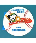 Vintage Sanrio All Star Puppy League Dalmatian Dog Coloring Book & Stick... - $33.90 CAD