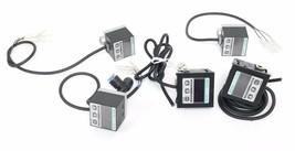 LOT OF 5 SUNX DP2-20 DIGITAL PRESSURE SENSORS DP220, 12 TO 24V DC