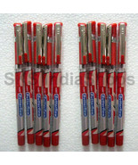 20x Cello Butterflow RED Ink Ball Pen ** LIMITED STOCK OFFER ** Free Shi... - $11.46