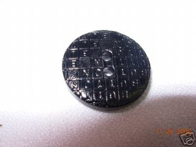 NOVELTY COAT BUTTON BL 2H 3/4