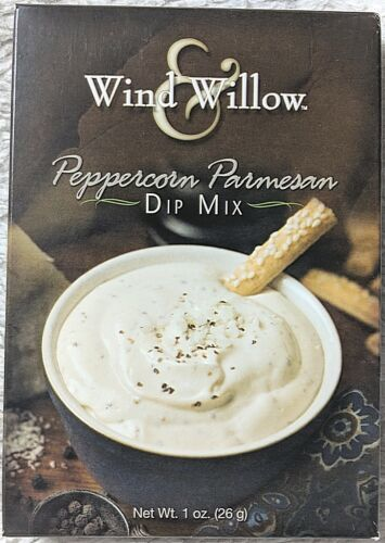 Wind And Willow 4311 Peppercorn Parmesan Dip Mix For Crackers Chips Or Veggies