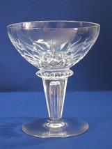 Maastrich Netherlands RN  Hand Cut glass dessert / champagne  - $11.30