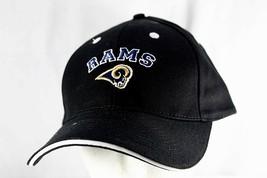 Los Angeles Rams Black/White NFL Baseball Cap Adjustable - $15.99