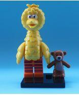 Custom Sesame Street Big Bird Mini Figure to fit well known brand UK Seller. - $6.30