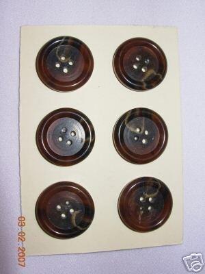 RALPH LAUREN 36 LIGNE COAT BUTTON 4 H BR  20 PC Bonanza