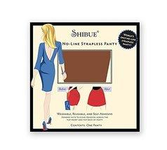 Shibue No-Line Strapless Panty (XS, MOCHA) - $17.63