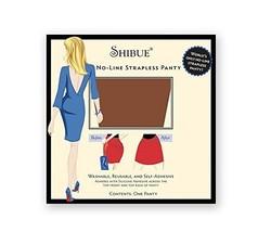 Shibue No-Line Strapless Panty (S, MOCHA) - $17.63