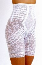 Rago Shapewear High-Waist Long Leg Pantie Girdle Style 6207 - Black - 5XLarge - $47.04
