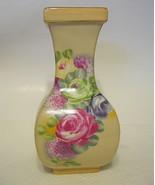 Rose Floral Vase Chic Decorator Accent - $40.09