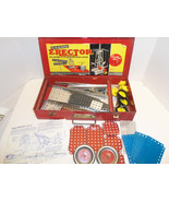 Vintage Gilbert Erector Set Box No 6 1/2 Red Me... - $68.55