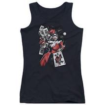 Harley Quinn Smoking Gun Juniors Tank Top New Dc Comics Licensed Bm2269 Jtk - $21.99+