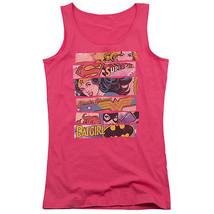 Wonder Woman Batgirl Supergirl Juniors Tank Top Dc Comics Licensed Dco413 Jtk - $21.99+