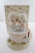 Precious Moments 1981 Music Box Baptism Let the Whole World Know E-7186 - $97.02