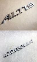 """TOYOTA """"COROLLA  ALTIS"""" LOGO CAR RACING DECAL E... - $18.99"""