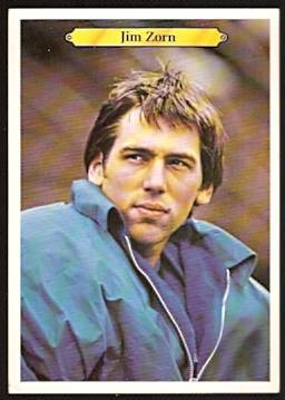 1980 topps super seattle seahawks jim zorn big flim positive rare