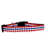 Mirage Pet Products Stars in Stripes Adjustable... - $10.99