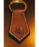 Scorpio Zodiac Leather Keychain - Handmade in USA - $16.83