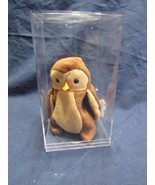 Ty Beanie Baby Hoot, 1995,  Style 4073 PVC Pellets - $197.07