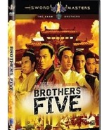 BROTHERS FIVE(SHAW BROTHERS COLLECTION) DIGITALLY REMATERED DVD - $12.86