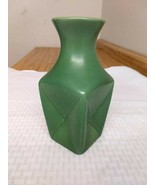 Vintage Redwing pale green pushed in vase: #1633 - $18.50