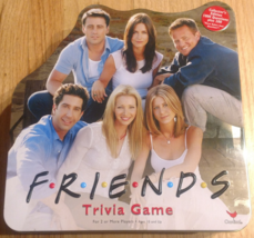 FRIENDS TRIVIA GAME YELLOW TIN 2002 CARDINAL COMPLETE EXCELLENT - $35.00