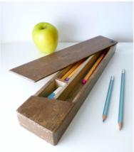 Wooden Pencil Box - $45.00