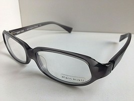 New High Fashion ALAIN MIKLI AL 0944 AL0944 0005 55mm Grey Eyeglasses Frame - $289.99