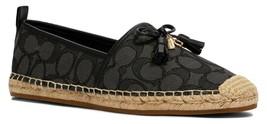 Coach Carson Espadrille Shoes Black/Coal Size 6.5 - $123.75