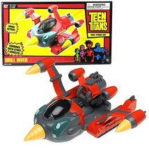 Bandai Year 2004 Teen Titans Action Vehicle Set - DRILL DIVER with Firin... - $54.99