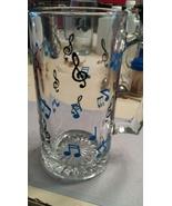 Music Note Glass Stein - $15.00