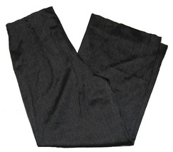 Womens Wool Pants Size 8 Anne Klein Black Herri... - $12.99
