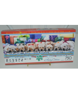 Holiday Puppies 750 Piece Puzzle by Buffalo Games Complete - $12.95
